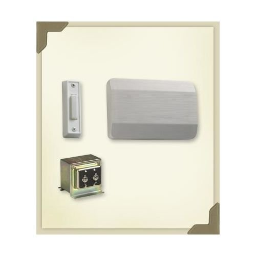 Quorum Lighting 101-1-6 Door Chime, White