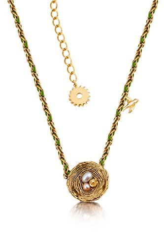 - Disney Couture Tinker Bell Pixie Hollow Birds Nest Necklace