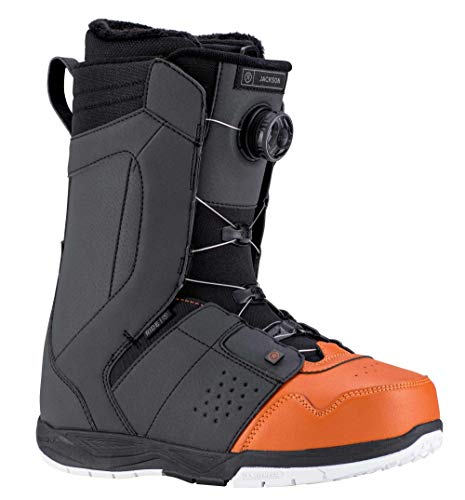 Ride Snowboarding Boots - Ride Jackson Men's Snowboard Boot 2019 - Size 10 - Terracotta/Black