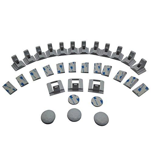 Monkon (12 Locks + 3 Keys + 3 Bonus Locks) Baby Safety Locks Magnetic Cabinet Locks-Child Proof Cabinet Locks are Easy to Install – No Drill, Tools Or Screws Needed Review
