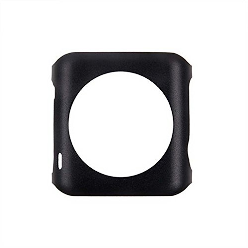 Aluminum Alloy Back Case for Apple Watch 42mm (Black) - 6