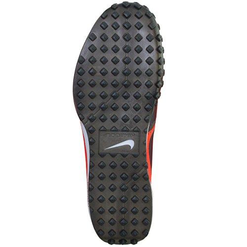 Nike Maan Mont Koninklijke Obsidiaan Heldere Karmozijnrood Zwarte Spikeless