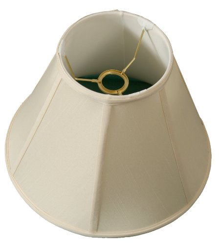 Royal Designs deep Empire Lamp Shade, Eggshell, 6 x 12 x 9.2