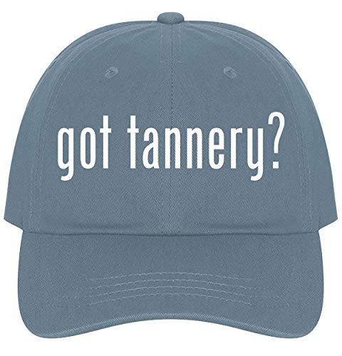 - The Town Butler got Tannery? - A Nice Comfortable Adjustable Dad Hat Cap, Light Blue
