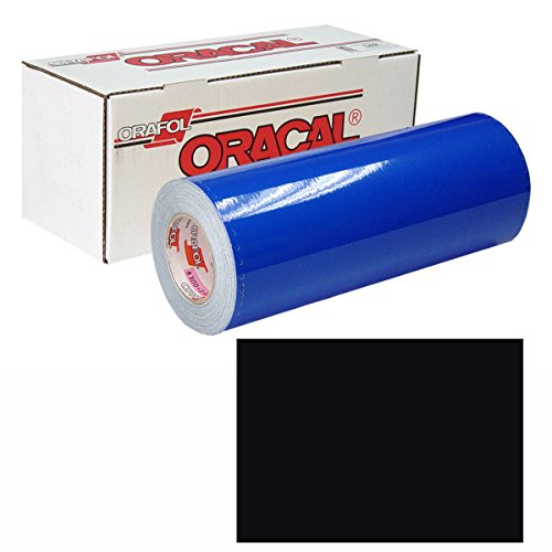 ORACAL 631 15In X 50Yd 070 Black by ORACAL