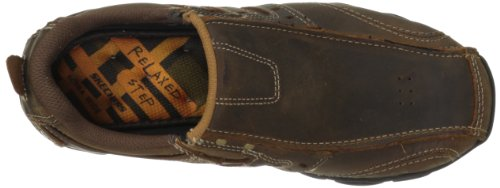 Skechers Diameter, Chaussures de ville homme, Marron (Cdb), US 6.5 3E|UK 5.5|EU 39