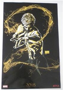 SDCC 2018 EXCLUSIVE MARVEL IRON FIST Poster (Joe Quesada Art)