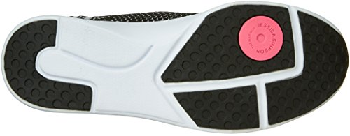 Shoe White Fitt Women's Black Walking Simpson Jessica Medium Black Fancy wpgqHXR