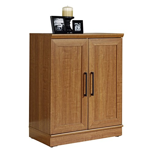 Brand New Sauder HomePlus Base Cabinet, Sienna Oak Finish (Oak Wood Base)