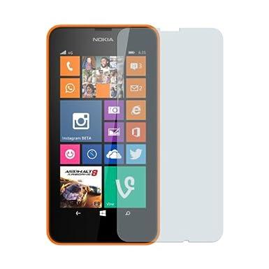 Nokia Lumia 635 - Premium Clear Screen Protector + Atom LED Keychain