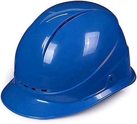 高密度ポリエチレン換気安全ヘルメット - 成人用 (Color : A)