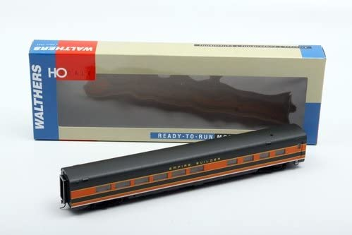 Walthers HO Scale AC&F Empire Scheme 36-Seat Diner Car - Partial Lettered (932-9083) 41Kp2BHkW57L