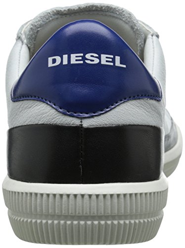 Diesel Mens Dyneckt S-naptik Mode Gymnastiksko Vit / Blå / Vit