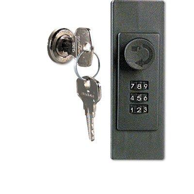 Locking Key Cabinet, 72-Key, Brushed Aluminum, 11 3/4 x 4 5/8 x 15 3/4, Sold as 1 Each
