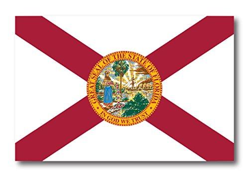 Florida Car Magnet US State Flag Refrigerator Locker SUV Heavy Duty Waterproof…