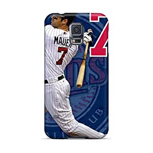 Durable Hard Phone Covers For Samsung Galaxy S5 With Unique Design Attractive Minnesota Twins Pictures TimeaJoyce