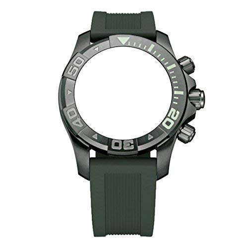 (Victorinox Swiss Army Dive Master 500 Army Green Genuine Rubber Strap Diver Watch Band 22mm)