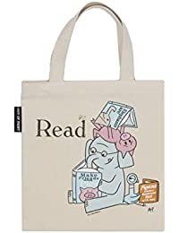 Elephant and Piggie Read Kid's Tote Bag, 10.5 X 10.5 Inches