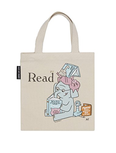 Out of Print Elephant and Piggie Read Kid's Tote Bag, 10.5 X 10.5 Inches by Out of Print (Image #3)