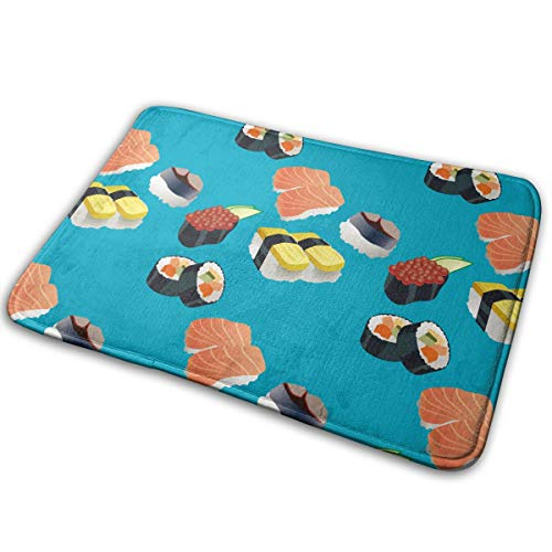 Dfshhjsdgb Fluffy I Love Sushi Carpets Rugs for Living Room 15.7 X 23.5 -