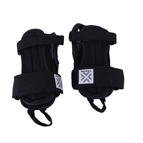 sea-junop Kids Sport Snowboard Ski Protective Glove Wrist Support Guard Pads Brace - Ski Sea And Sports