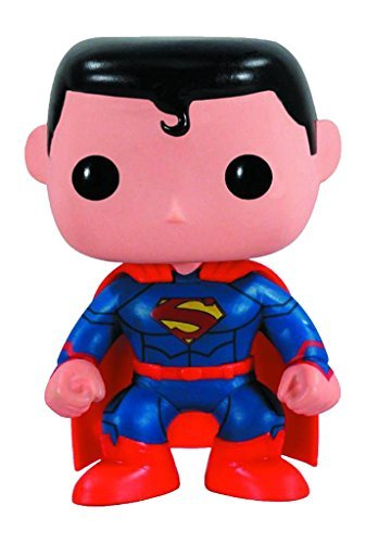 Funko The New 52 Version Pop Heroes Superman Vinyl (New 52 Superman Costume For Sale)