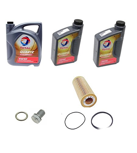 Oil Change Kit Drain Plug Oil Filter Oil For Audi A6