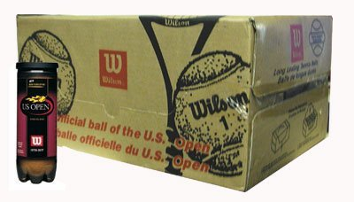(WILSON WRT1072CS US Open High Altitude Balls -Case)