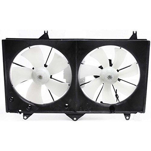 Radiator Fan Assembly Compatible with Toyota Camry 02-06 Toyota Solara 02-08 4cyl ()