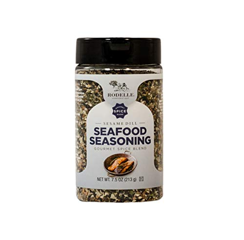 Dill Salmon - Rodelle Seafood Seasoning, Sesame Dill, 7.5 Ounce