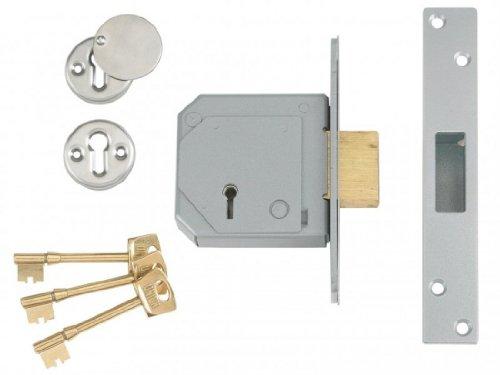 Union Locks 3G114E 5Lever Mortice Deadlock - Buy Online in