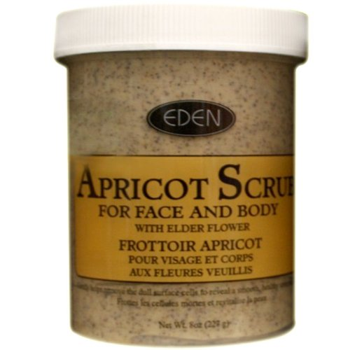 Dynamix International Eden Apricot Scrub for Face and Body 454 g