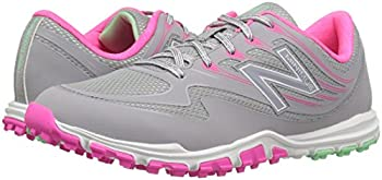 New Balance Women's Nbgw1006 Golf Shoe, Greypink, 9.5 B Us 5