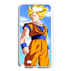 Samsung Galaxy N2 7100 Cell Phone Case Covers White Goku Phone cover F7621718