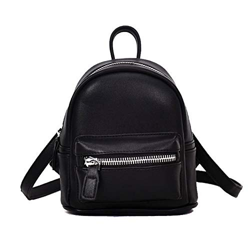 tracolla Bags nero a rosa BUTBS182241 Zippers Fashion Borse Pu AmoonyFashion Tote pqI00g