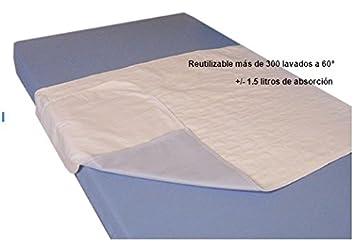 Empapador para cama reutilizable| Empapador absorbente 4 capas de PVC: Amazon.es: Hogar