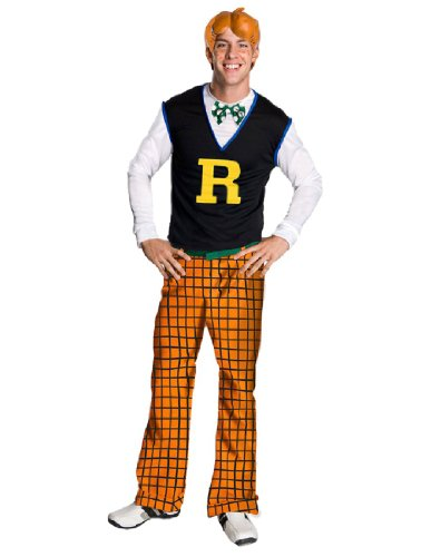 Archie Comics Costume, Blue/Orange, One Size (Archie Comic Character Costumes)
