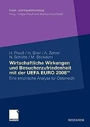 Wirtschaftliche Wirkungen und Besucherzufriedenheit mit der UEFA EURO 2008: eine empirische Analyse fur Osterreich (Event- und Impaktforschung)
