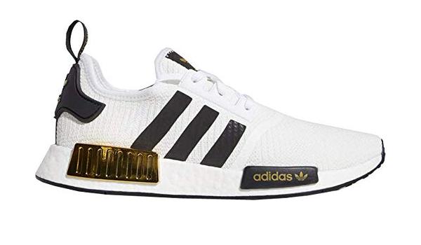 Amazon.com | adidas NMD R1 White Black Gold - Eg5662 - Size | Shoes