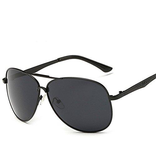 KaiSasi The New Mens Polarized Sunglasses Large Metal Frame Sunglasses Women Yurt - Frame How Glasses To Fix Broken Metal
