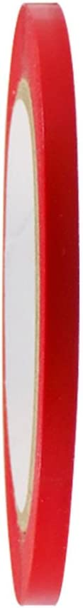 GGR Supplies T.R.U. CVT-536 Red Vinyl Pinstriping Dance Floor Tape: 1/4 in. wide x 36 yds. Several Colors