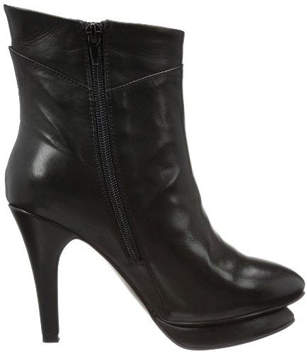 P1 Lehel - Botas clásicas de cuero mujer negro - negro