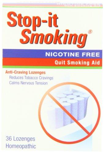 Natrabio Arrêtez-Il fumeurs Anti-Craving Pastilles, 36 homéopathiques Pastilles