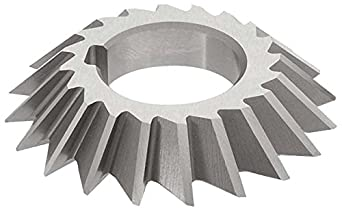 18 Teeth Standard Cut 1-1//4 Arbor Hole KEO Milling 00435 Staggered Tooth Milling Cutter,S Style Uncoated Coating HSS 1//4 Width 3-1//4 Cutting Diameter