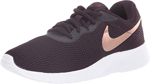Nike Women's Tanjun Shoe Burgundy Ash/Metallic Red Bronze Size 7.5 M US