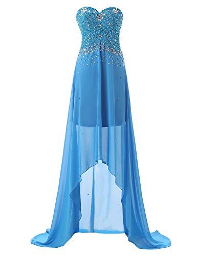 high low chiffon dress - 5