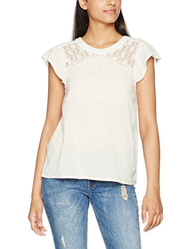 Vero Moda Vmpingo Capsleeve Top a, Camiseta para Mujer Blanco (Snow White)