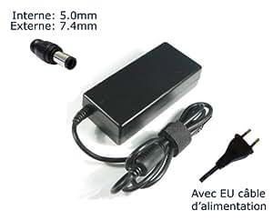 "Lavolta-Adaptador de corriente alterna para HP G G G G 61-401SA 61-410SA 61-410SA G 62-105SA G 62-105SA-Cargador de ordenador portátil (con garantía de 12 meses, incluye cable de alimentación con enchufe europeo, Power (TM) de marca) """