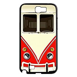 Bus Fashion Design Cover Skin for Samsung Galaxy Note 2