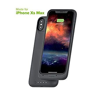 Mophie Juice Pack Air - Mfi Certified - Wireless Charging - Protective Battery Pack Case for Apple iPhone Xs Max - Graphite (401002411)